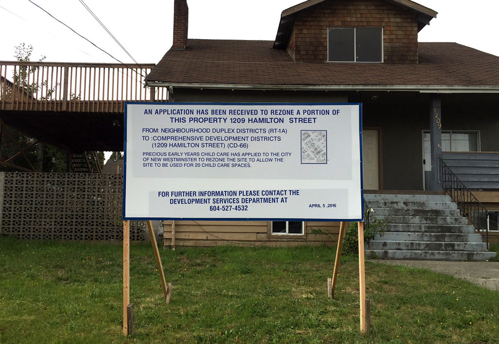 When buying your dream home, check zoning signs in the neighbourhood.