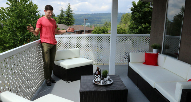 A great looking patio will help a home's curb appeal
