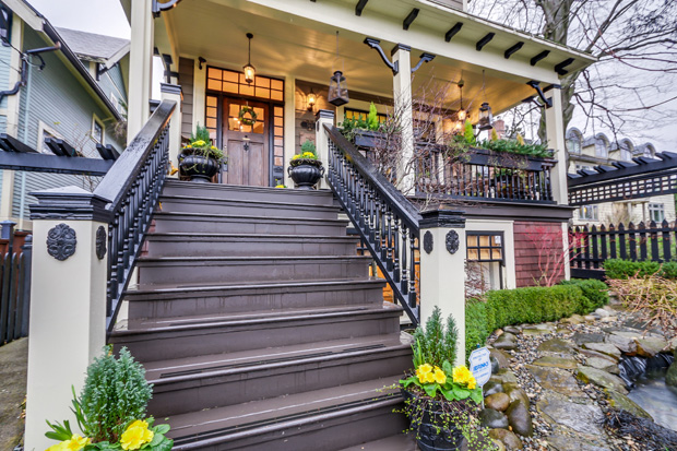 Curb appeal is an important important part of the process of how Realtors price a home.