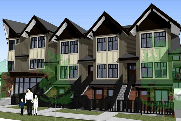 Pacifico townhomes