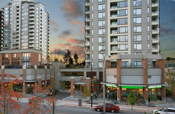 Condos and townhomes in Burnaby